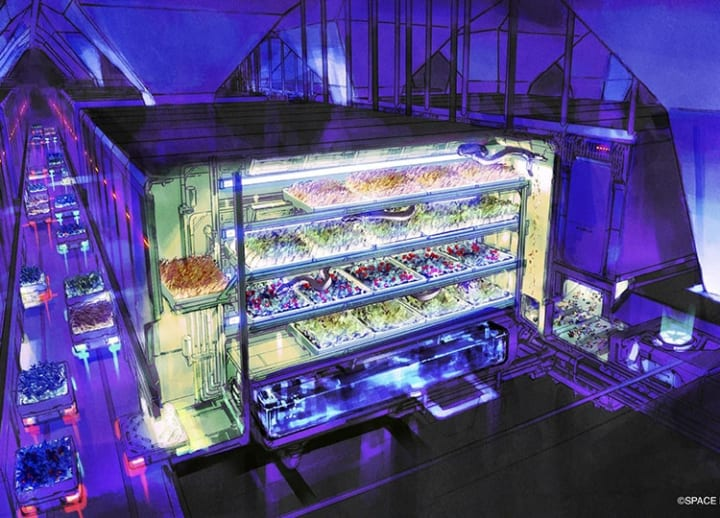 Japanese public-private group wants to one day feed workers on the moon