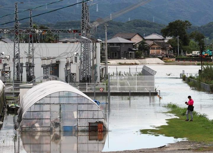 Torrential downpours: 3 dead in landslide in Nagano; record rainfall in Kyushu